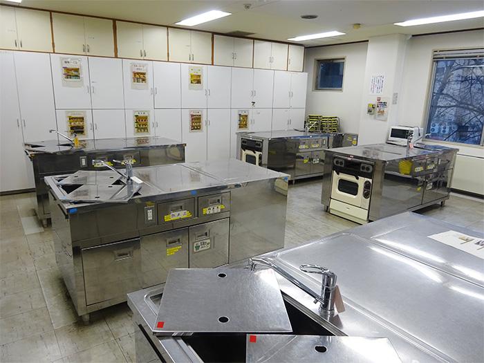 料理実習室 3枚目の写真